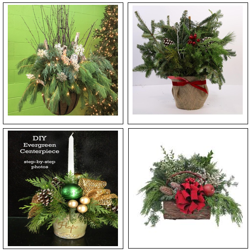 Holiday Evergreen Workshop