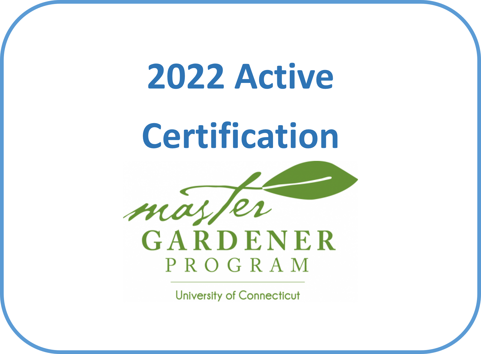 Active Certification 2022 - Tolland